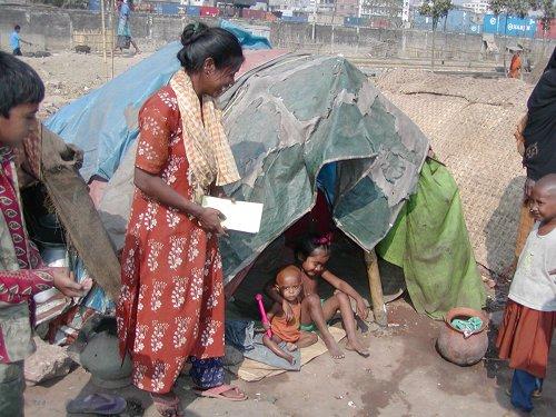 Einwohner Dhakas