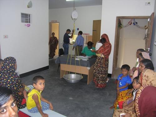Hilfsprogramm in Dhaka
