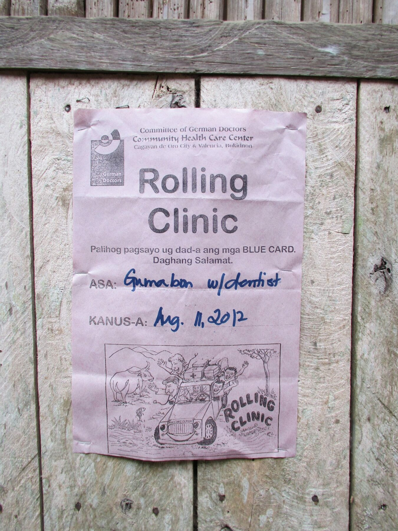 Rolling Clinic Poster