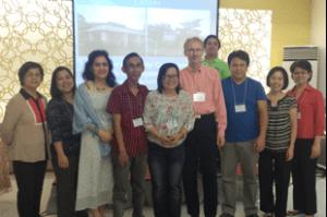 Gemeinsam gegen Tuberkulose- das Projektteam
