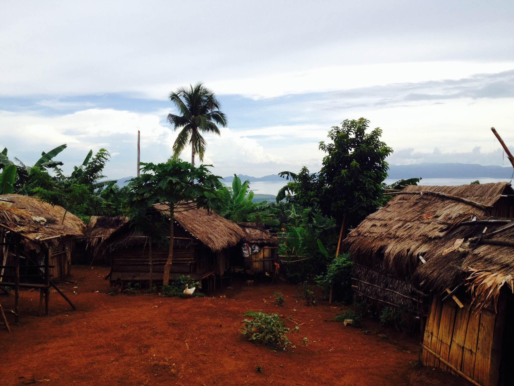 Ein Mangyans auf Mindoro