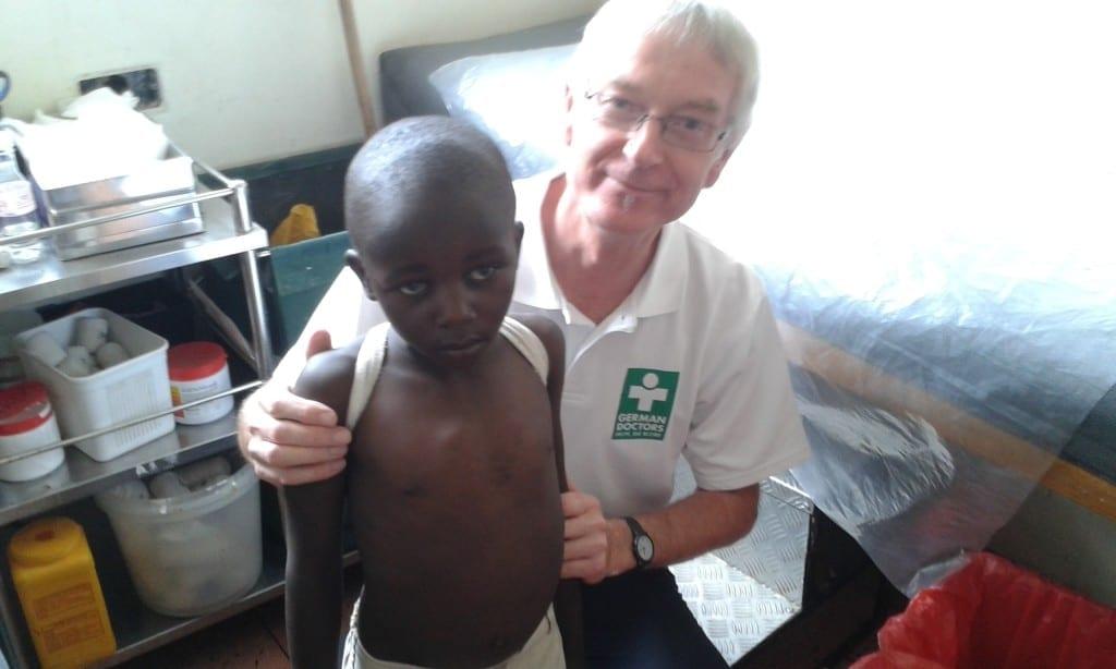 Dr. Freiwald und ein Patient