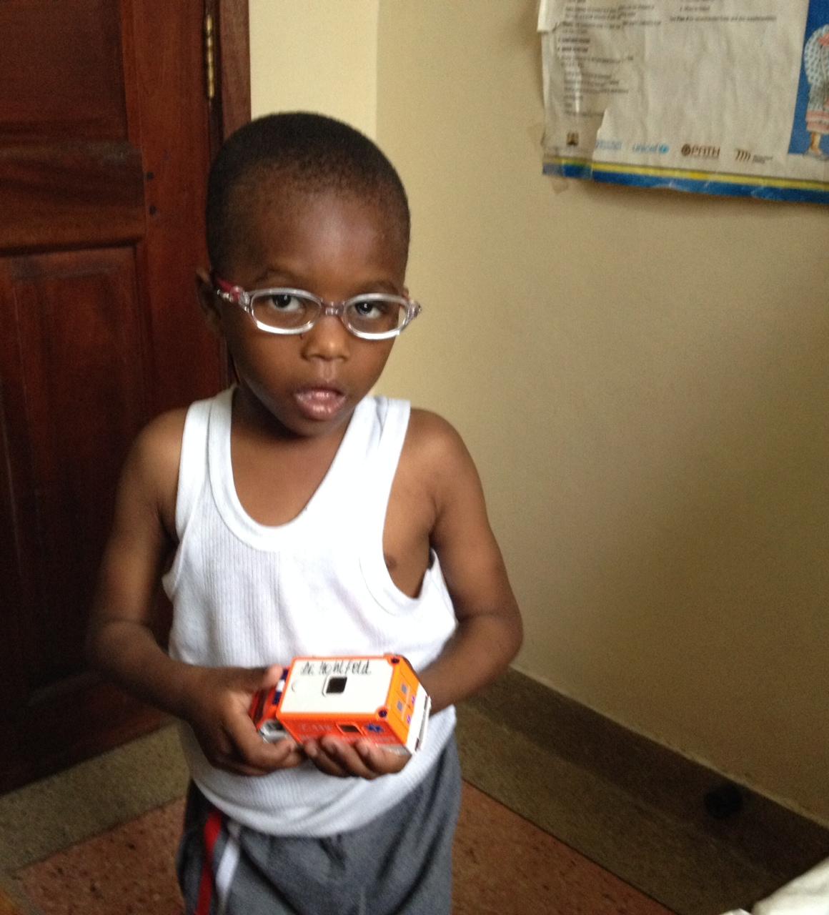 Kleiner Patient in Nairobi