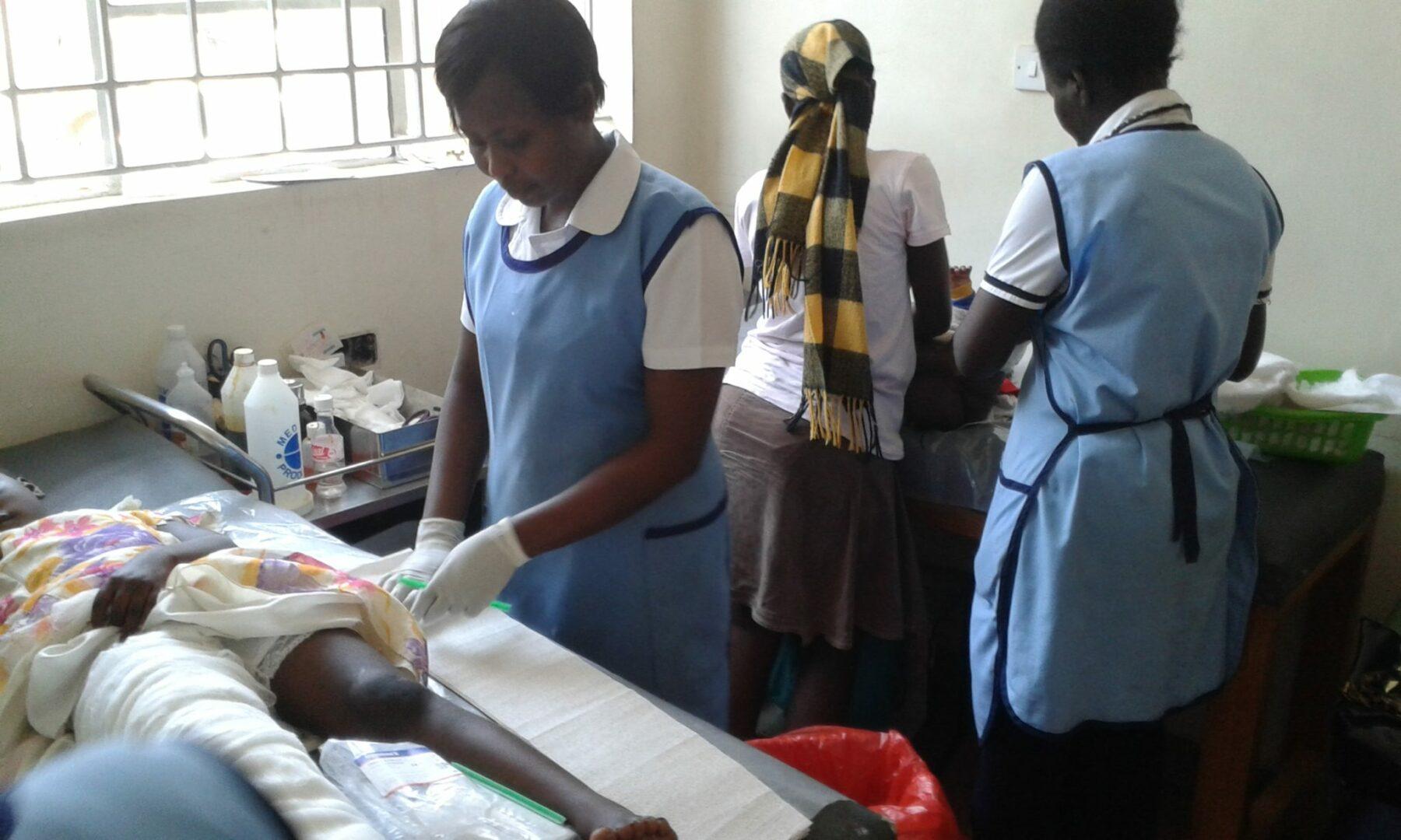 Krankenschwestern in Nairobi