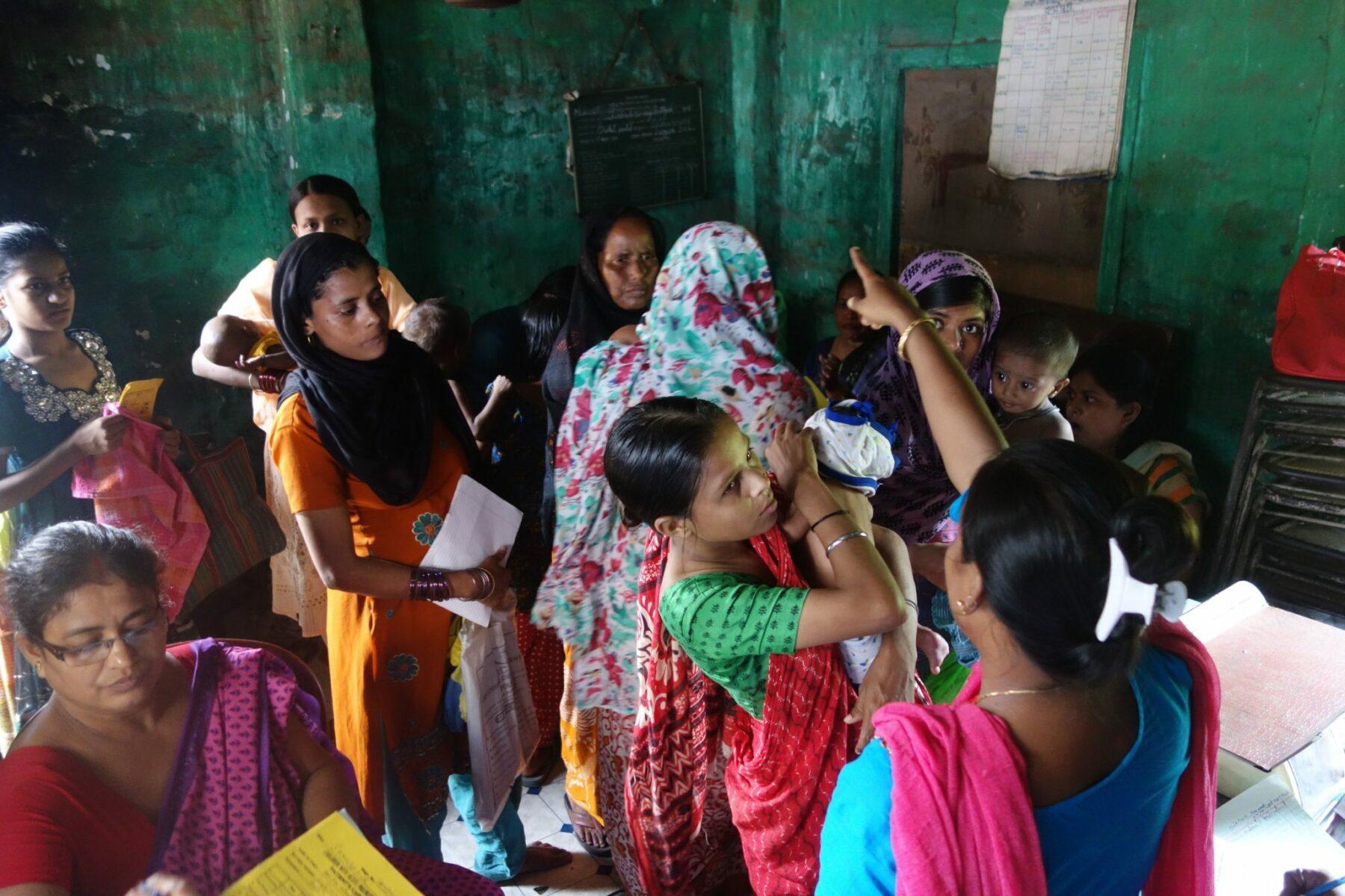 Familienhilfe in Kalkutta