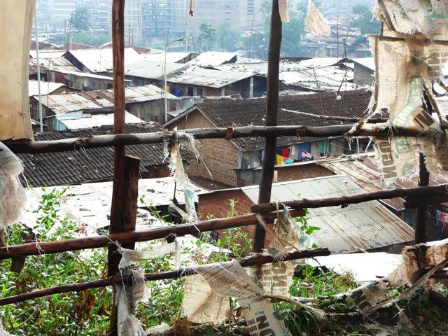 Mathare Valley Slum in Nairobi