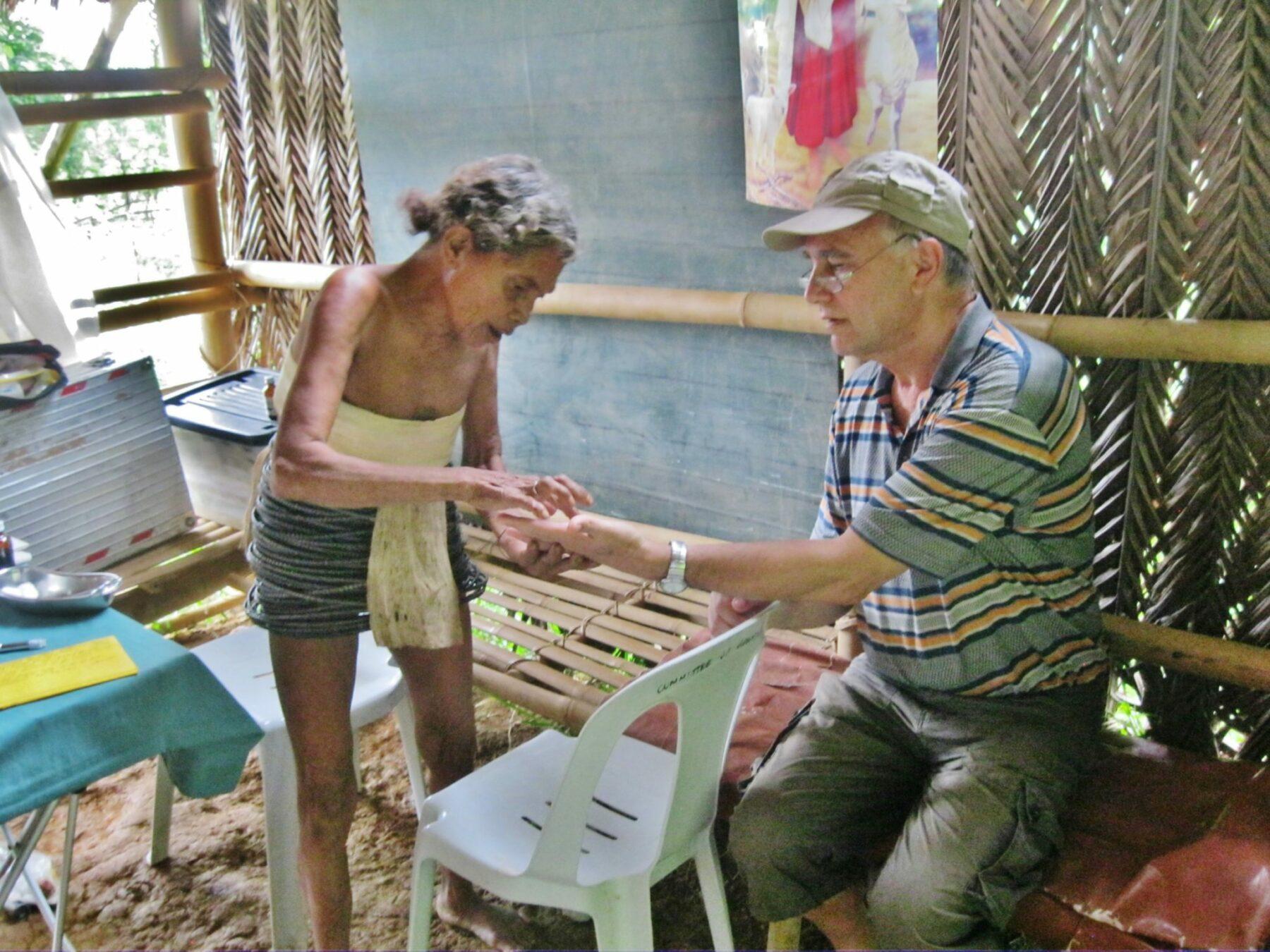 Patientin auf Mindoro