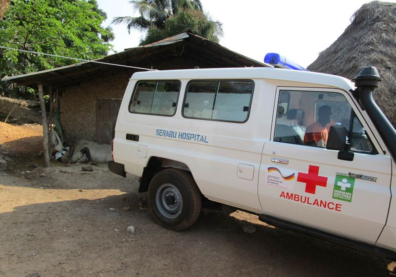 Transport von Ebola-Patienten