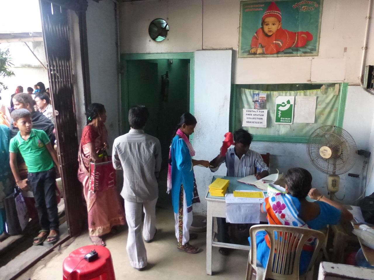 Registrierung der Patienten