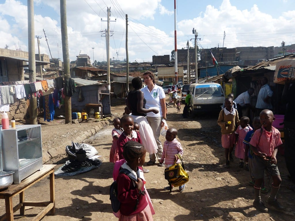 Mathare Valley Slum in Nairobi