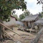 Ein Dorf auf Mindoro