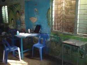 Sprechzimmer in Bangladesch