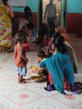 Unterernährung in Bangladesch