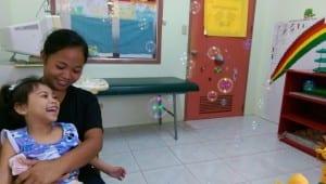 Kleine Patienten auf den Philippinen