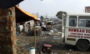 Slums von Kalkutta