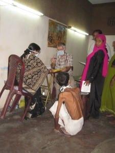 Unterernährung in Indien