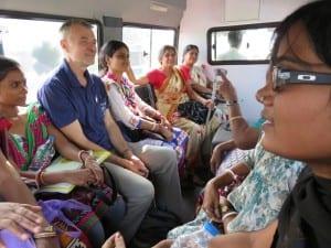 Unterwegs in Kalkutta für Menschen in Not