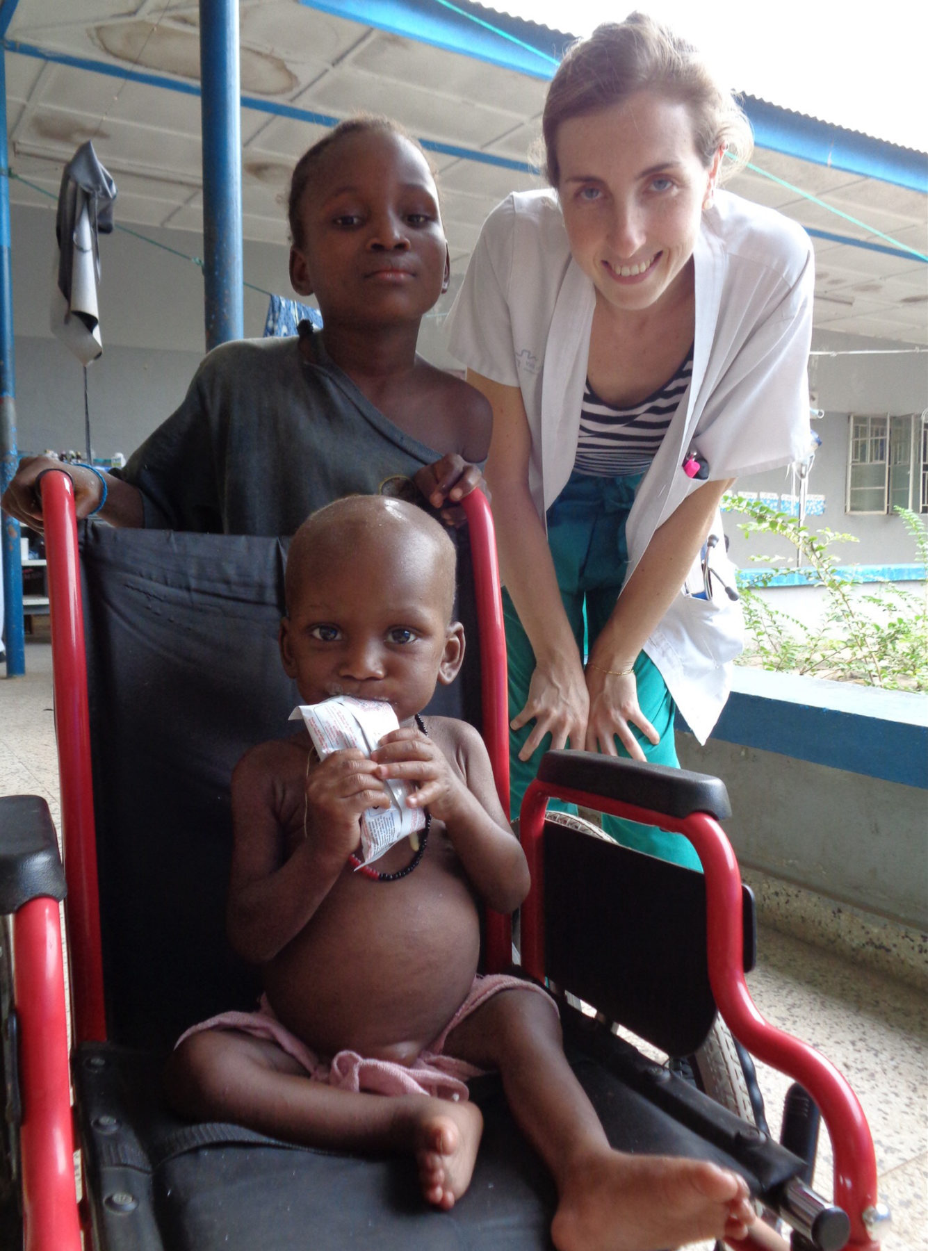 Kampf gegen Unterernährung