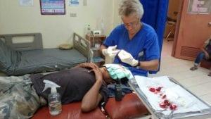 Einsatz in der Armenklinik