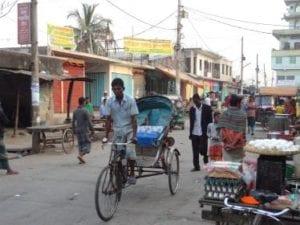 Rikscha in Bangladesch