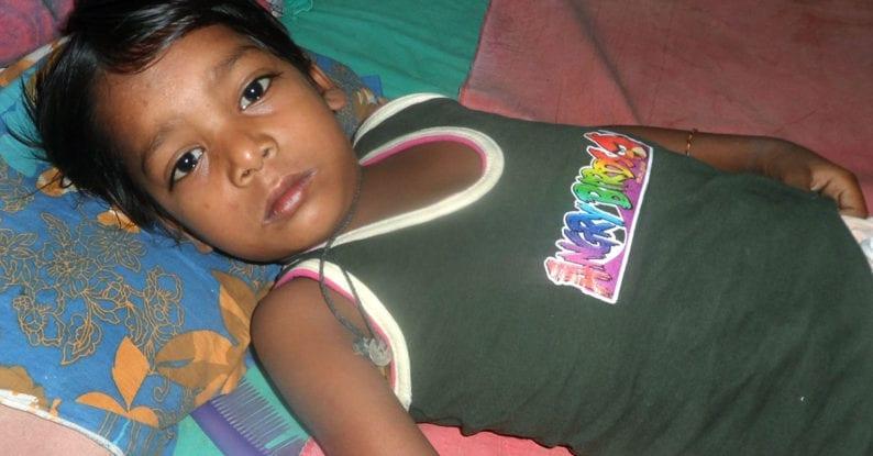 Tuberkulose bei Kindern in Kalkutta