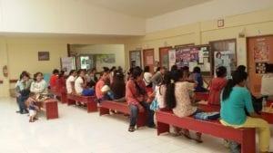 Patienten auf Mindanao