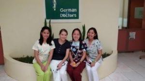Klinik-Team in Buda