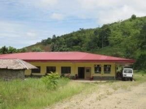 Krankenhaus auf Mindanao