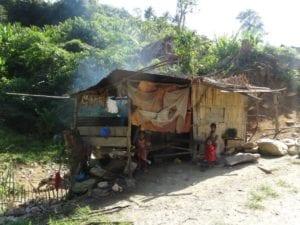 Hütte auf Mindoro