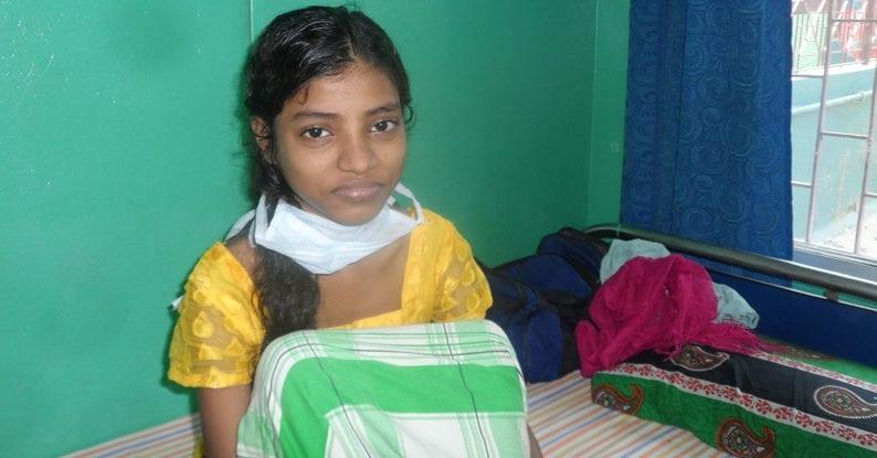 Tuberkulose-Klinik in Kalkutta