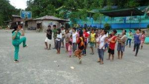 Frühsport auf Mindoro