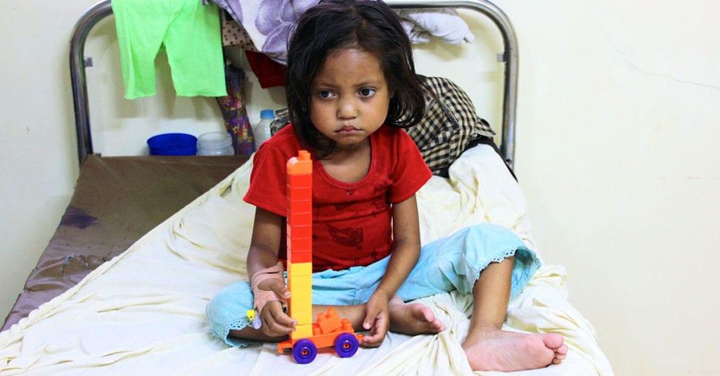 Lungentuberkulose bei Kindern