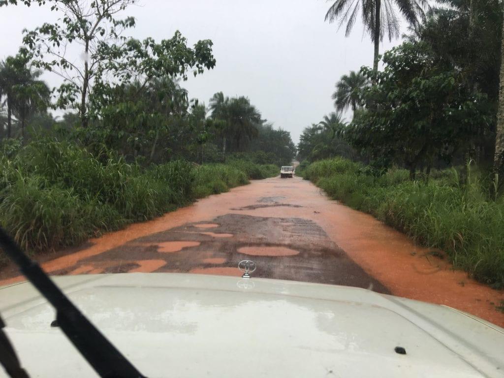 Straße in Sierra Leone