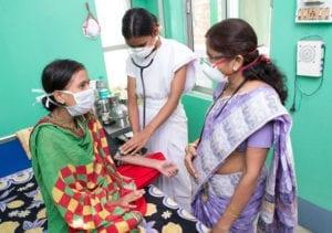 Mitarbeiter Tuberkulose-Klinik