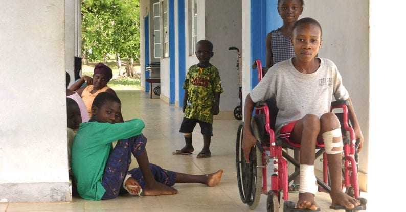 Krankheiten in Afrika bekämpfen
