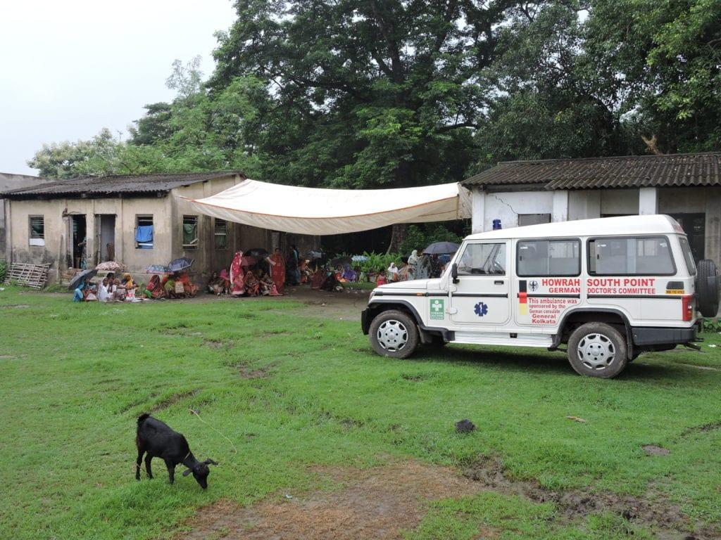 Kalkutta Ambulanz-Standort