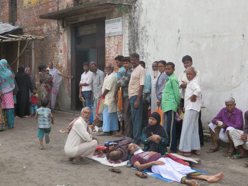 Tuberkulose-Diagnostik in Indien
