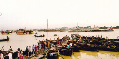 Fischeroote in Chittagong