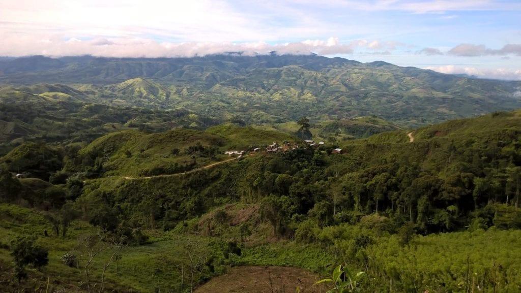 Landschaft Mindanao