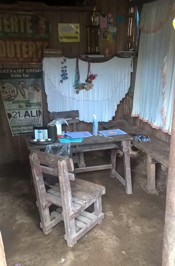 Sprechzimmer Mindanao