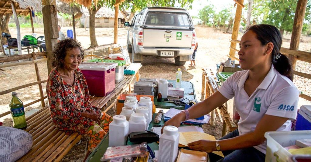 Mobile Klinik auf Mindanao