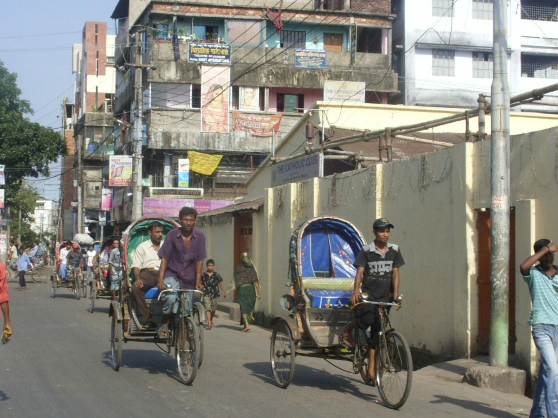 Chittagong Verkehr