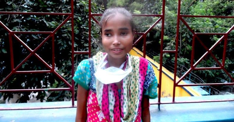 Straßenkinder in Indien