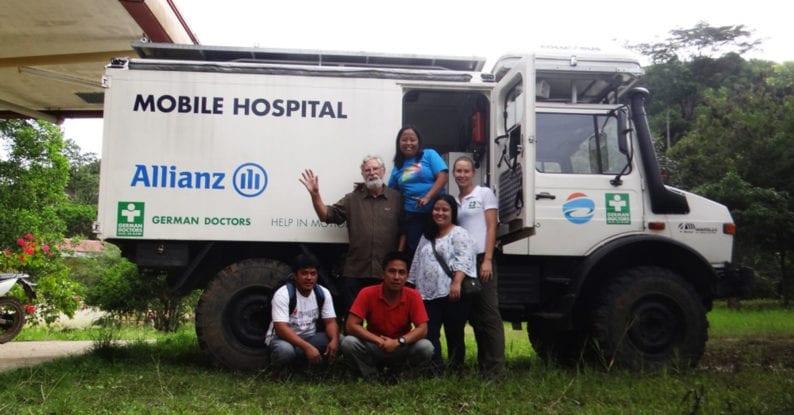 Unimog im Einsatz auf den Philippinen