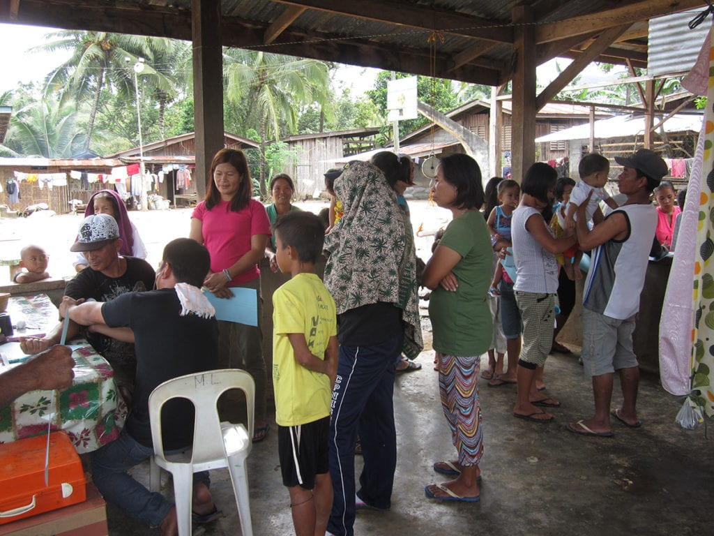 Mobile Arztpraxis auf Mindanao