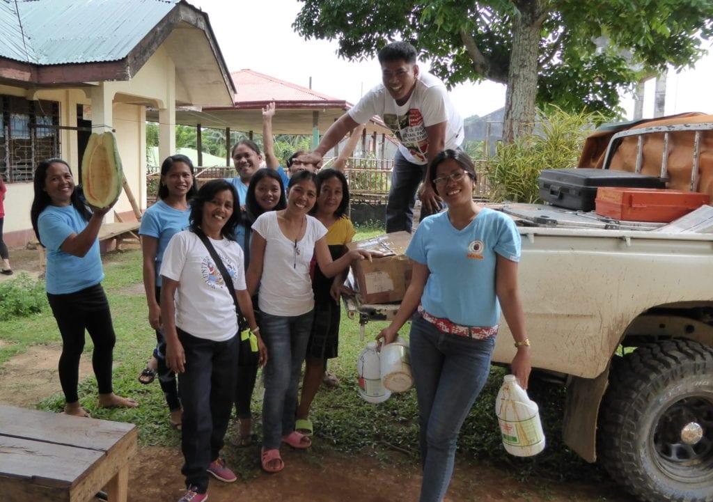 Mobile Hospital auf Mindanao