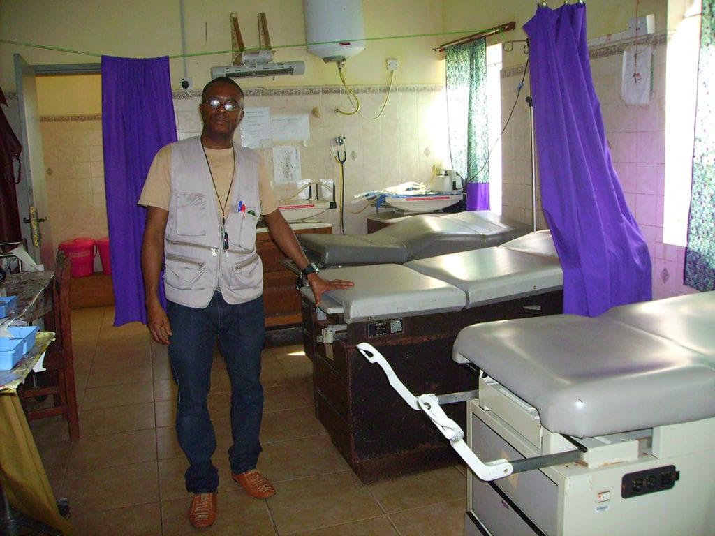 Health officer Serabu