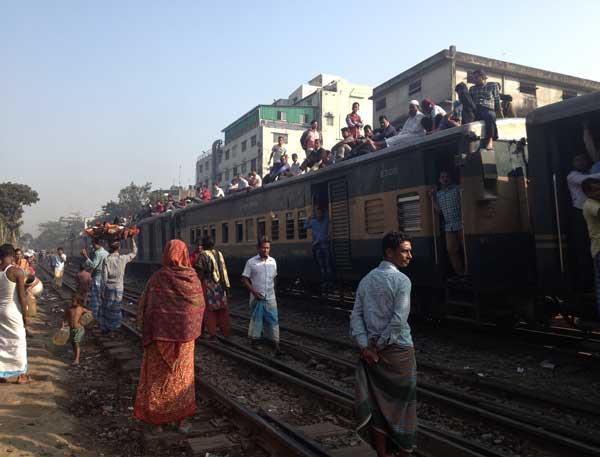 Zugfahrt Dhaka