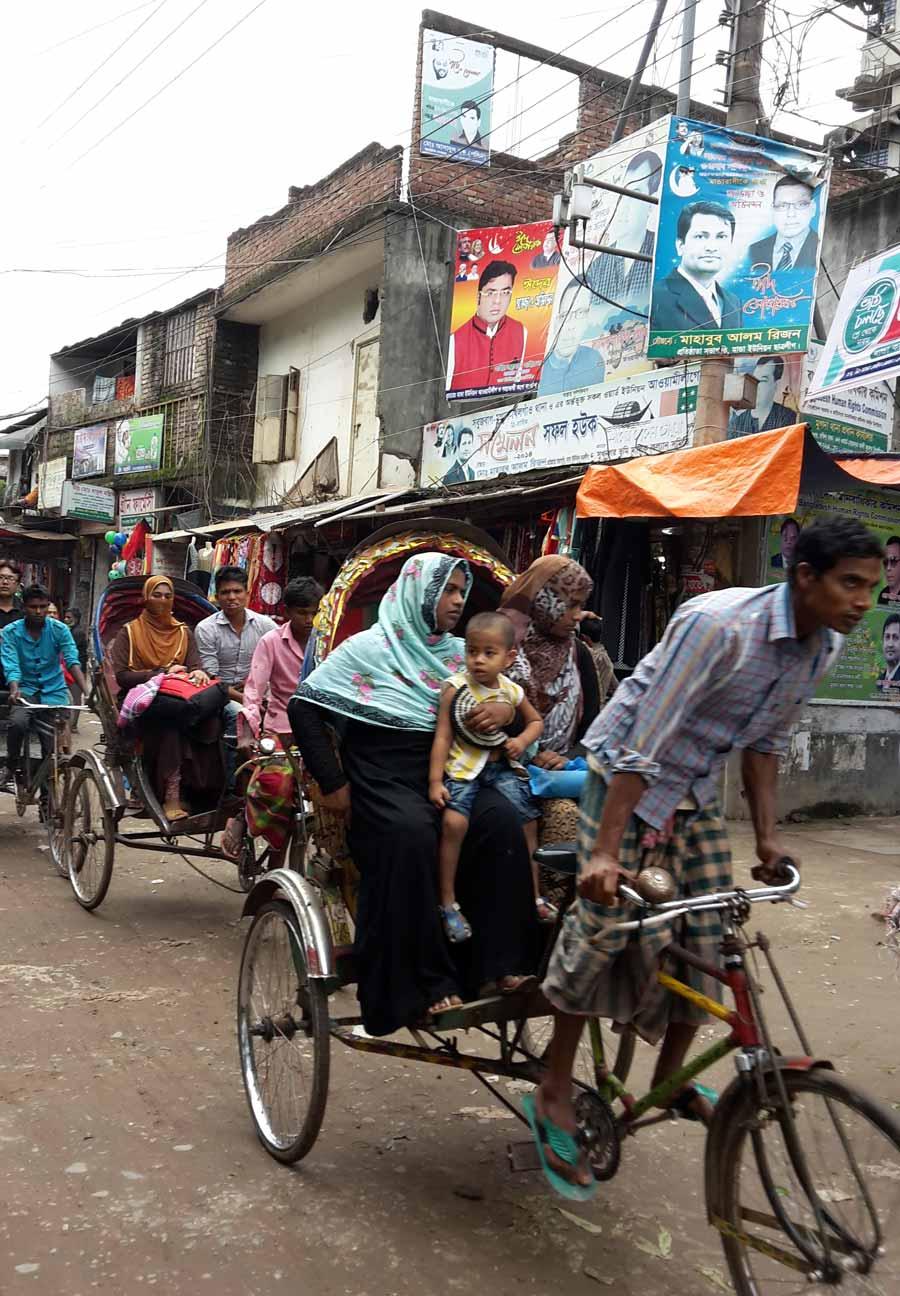 Rikscha in Dhaka
