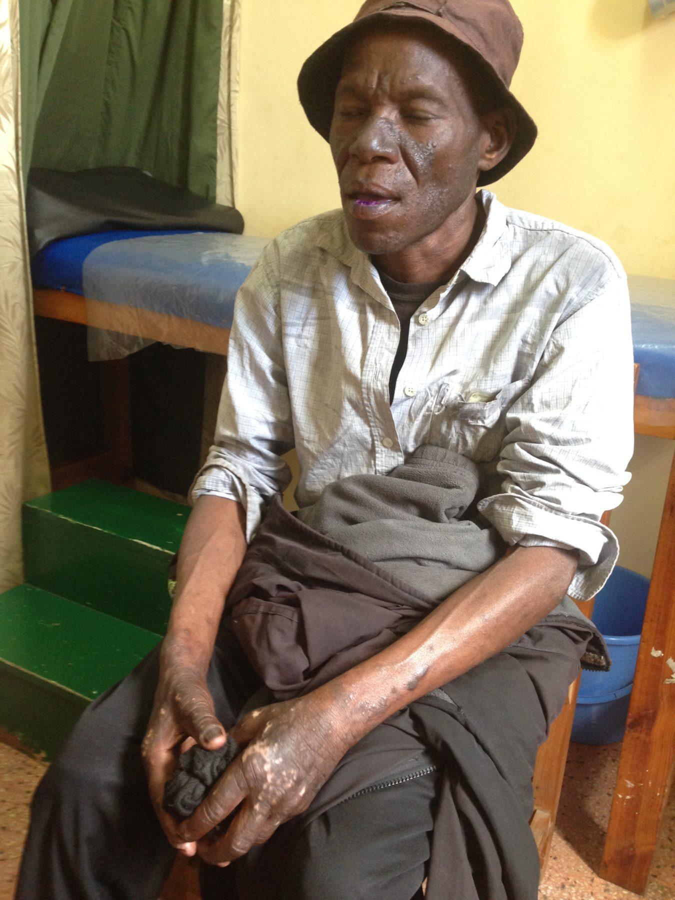 Patient in Nairobi